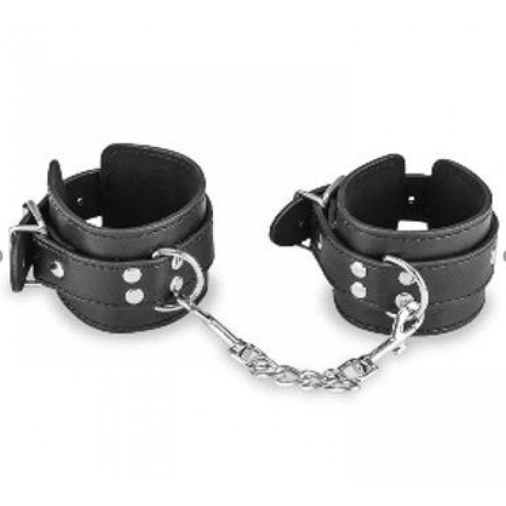БДСМ наручники - Наручники BDSM Bondage Hundcuffs, Black