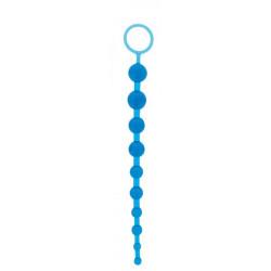 Анальная цепочка Oriental Jelly Butt Beads 10.5, BLUE