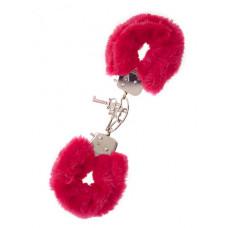 Наручники,Metal Handcuff with Plush, RED