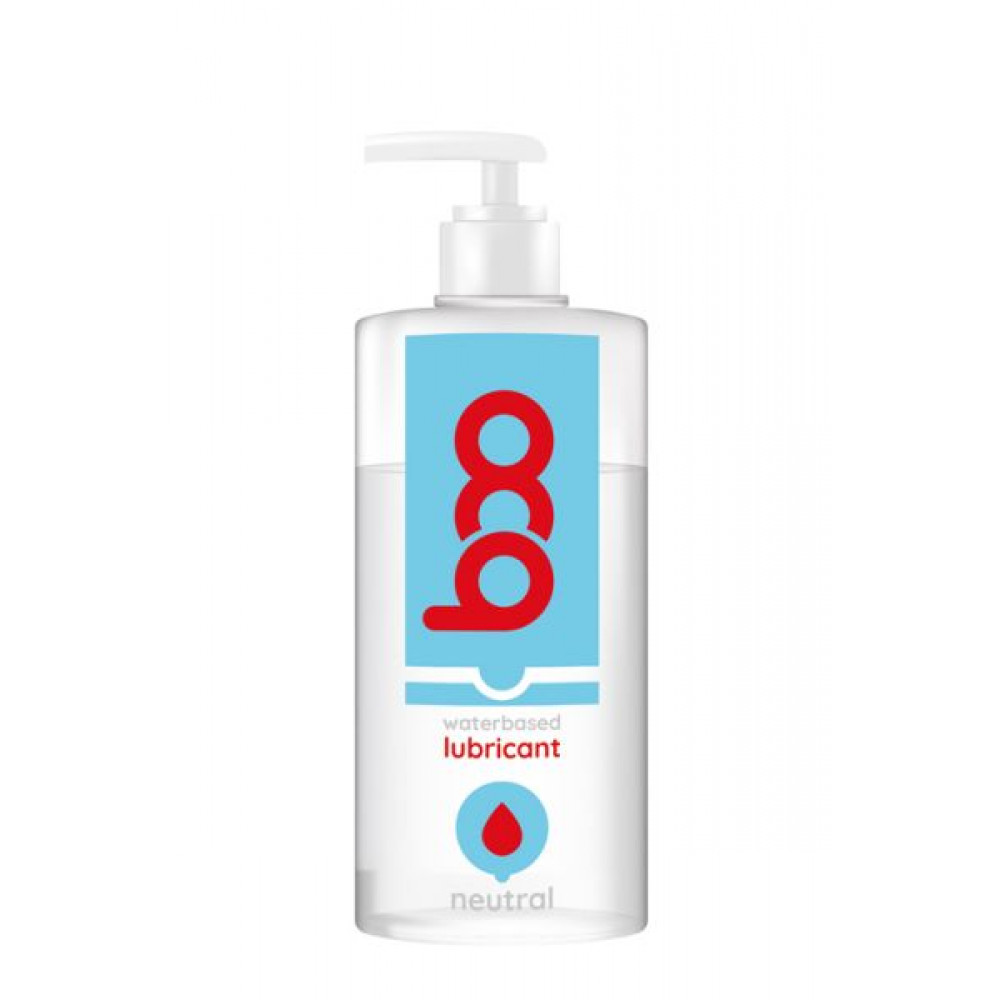 Смазка на водной основе - Лубрикант BOO WATERBASED LUBRICANT NEUTRAL 500ML