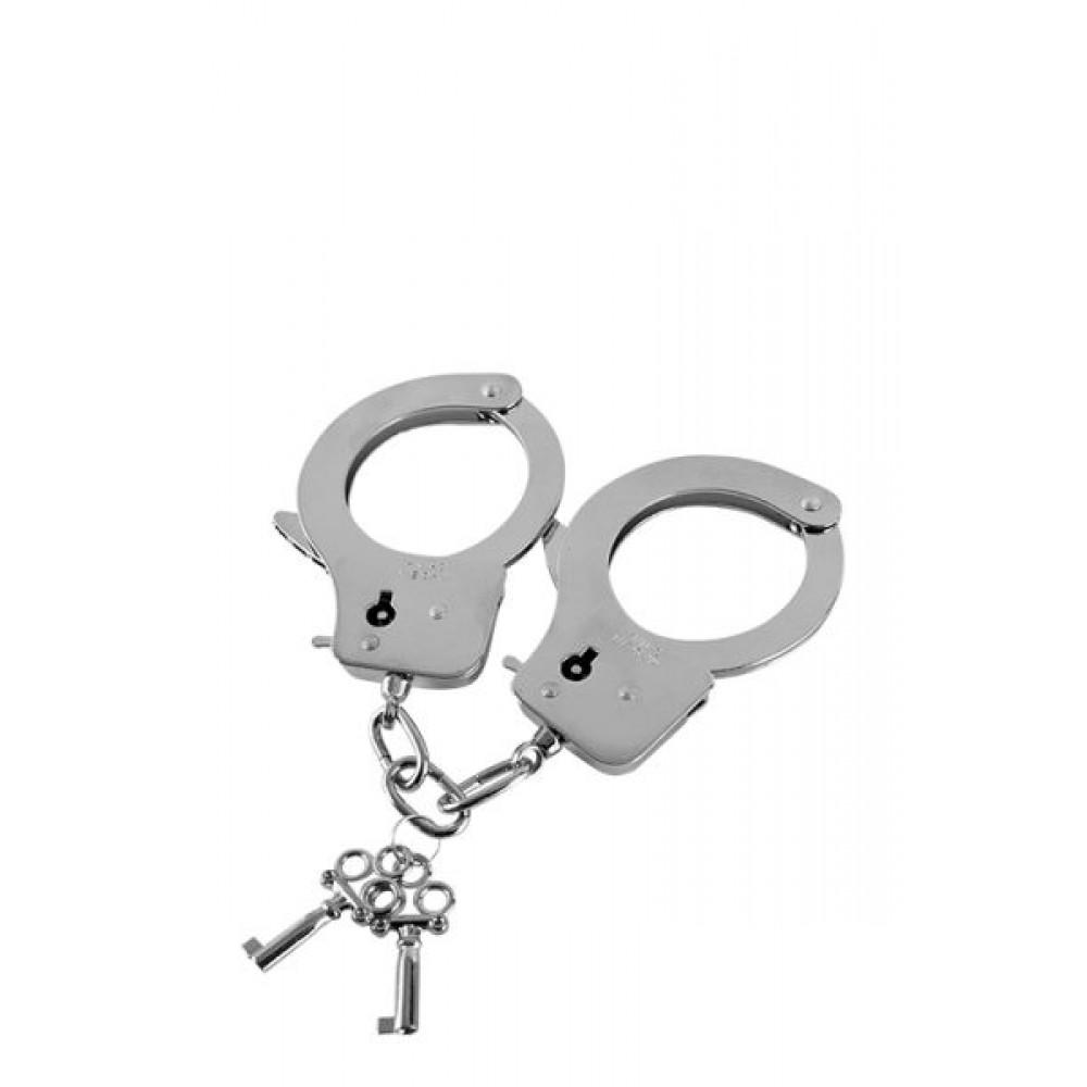 БДСМ наручники - Металлические наручники GP METAL HANDCUFFS