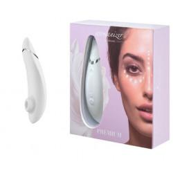 Бесконтактный Клиторальный Стимулятор Womanizer Premium, White