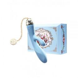 Вибромассажер - кролик с функцией управления со смартфона ZALO Rosalie, Royal Blue