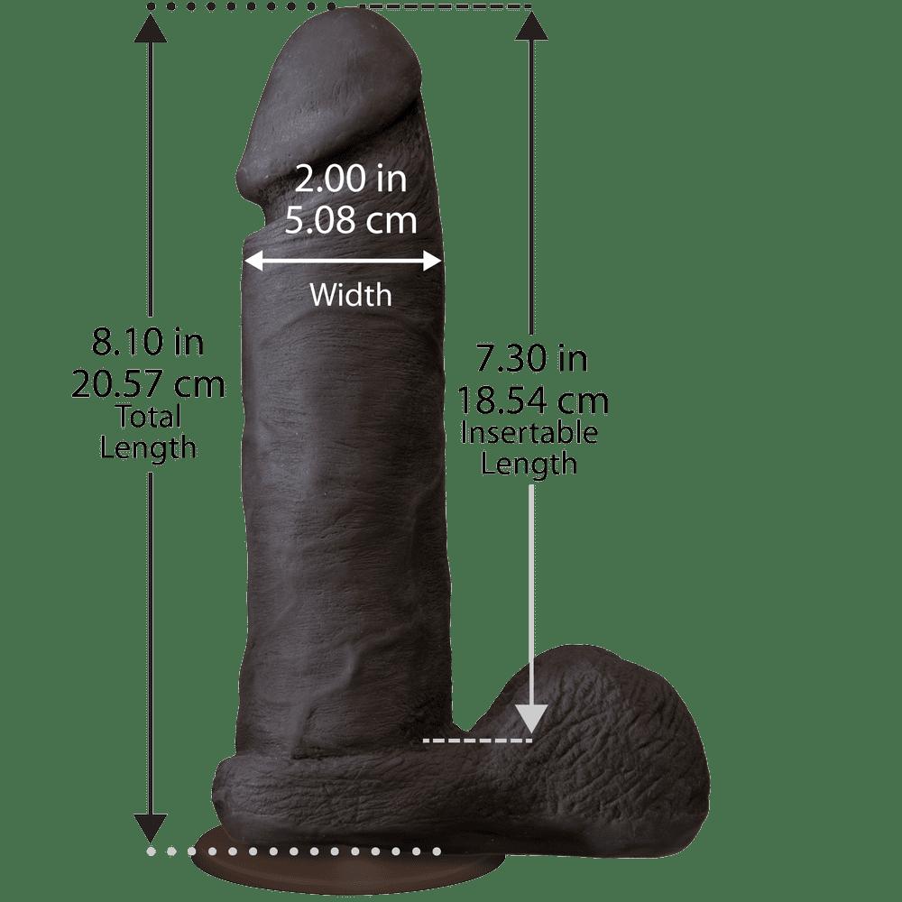 Фаллоимитаторы реалистичные - Фаллоимитатор Doc Johnson The Realistic Cock 2