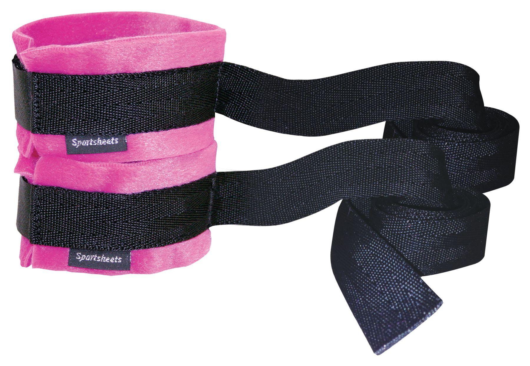 БДСМ наручники - Наручники Sportsheets Kinky Pinky Cuffs