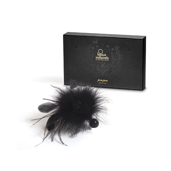 БДСМ метелочки и щекоталочки - Метелочка Bijoux Indiscrets Pom Pom - feather tickler 3