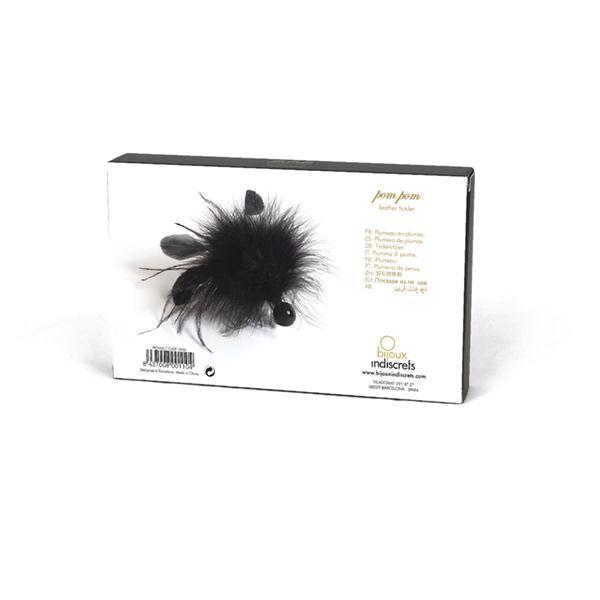 БДСМ метелочки и щекоталочки - Метелочка Bijoux Indiscrets Pom Pom - feather tickler 4