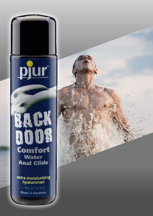 Анальные смазки и смазки для фистинга - Анальная смазка на водной основе pjur backdoor Comfort water glide 100 мл 1