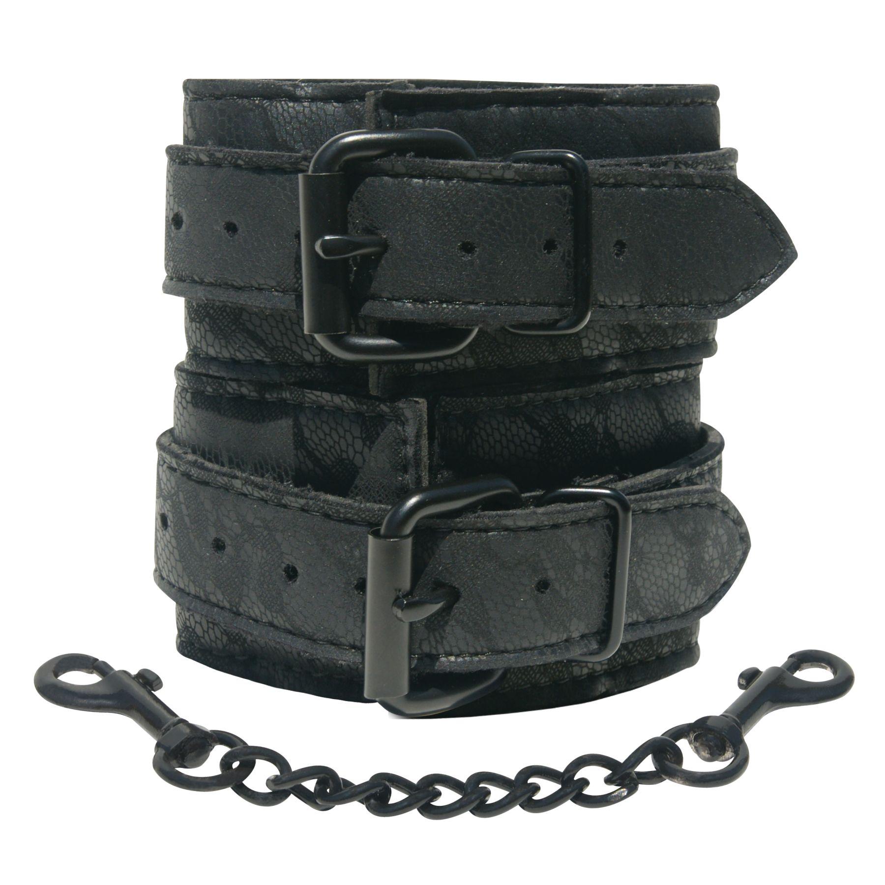 БДСМ наручники - Наручники Sportsheets Midnight Lace Cuffs