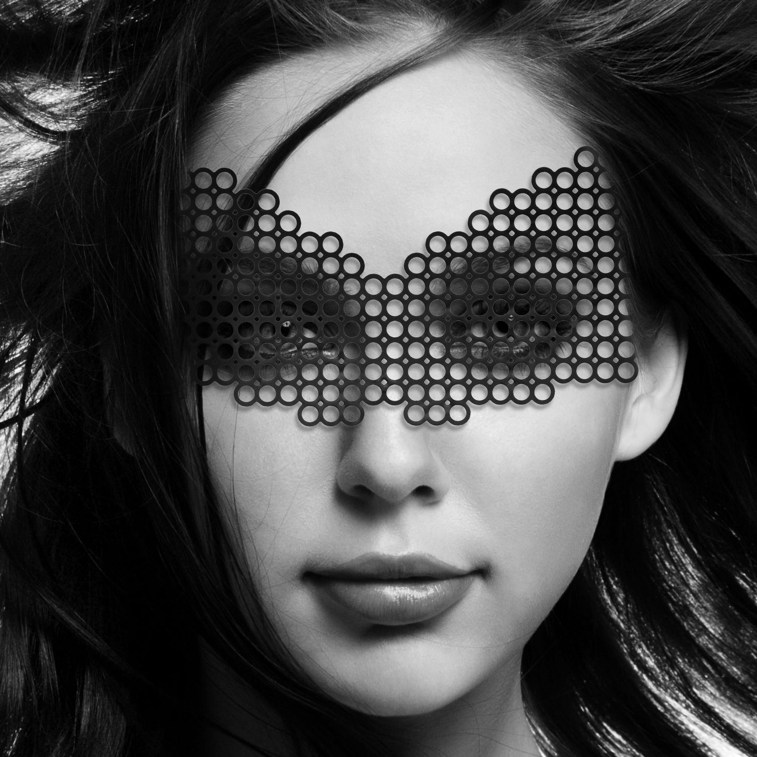 Маска для БДСМ - Маска Bijoux Indiscrets - Erika Mask 1