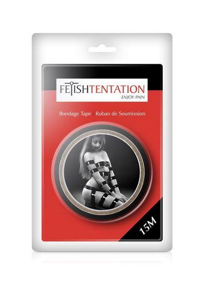 БДСМ аксессуары - Скотч для бондажа Fetish Tentation Black 2