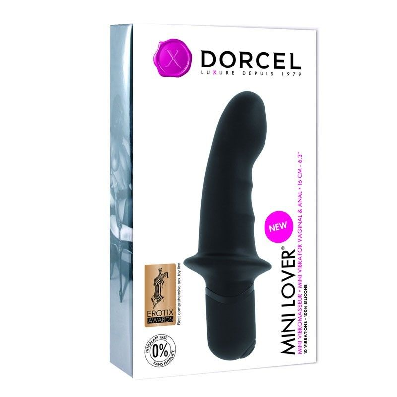 Стимулятор точки G - Вибратор Dorcel Mini Lover Black 1