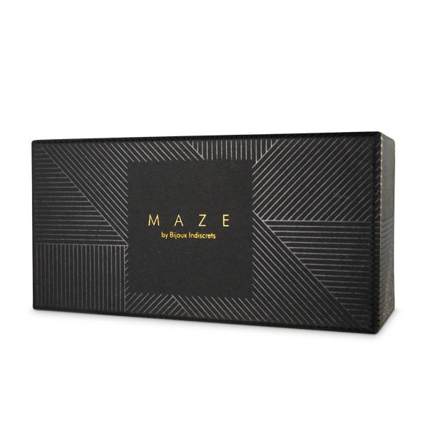 БДСМ наручники - Узкие наручники MAZE Bijoux Indiscrets,  коричневые 4
