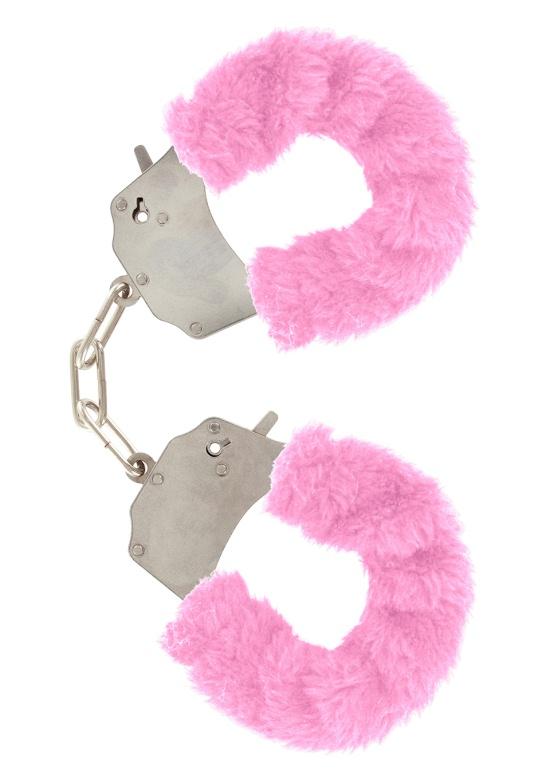 БДСМ игрушки - Наручники Furry Fun Cuffs  , розовый