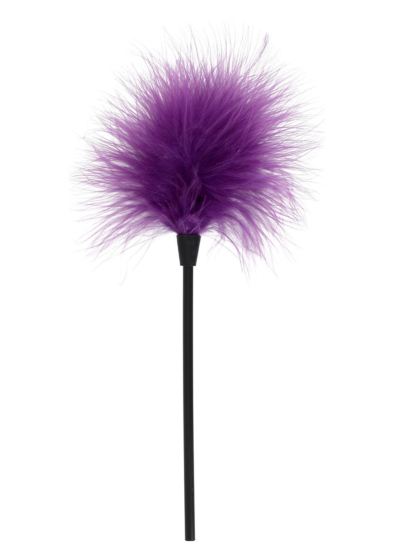 БДСМ метелочки и щекоталочки - Сексуальная перьевая метелочка Purple