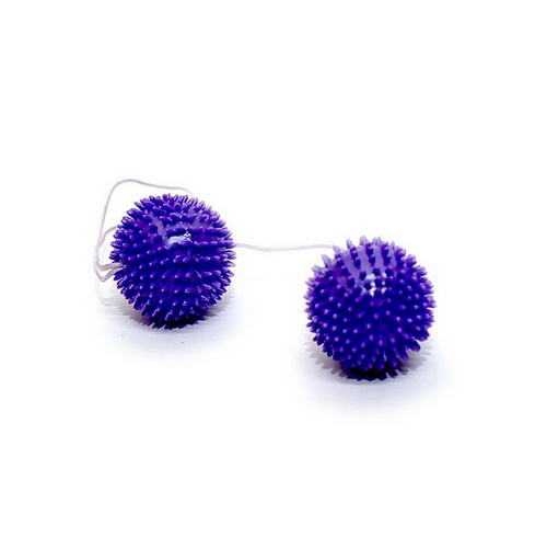 Вагинальные шарики - Вагинальные шарики Girly Giggle, 3 см, светло-розовый