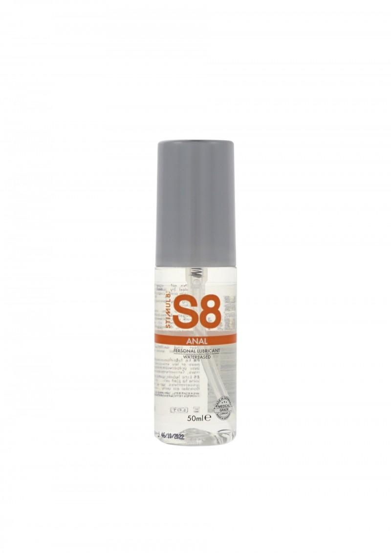 Смазки на водной основе - Stimul8 water based Anal Lube лубрикант, 50 мл.