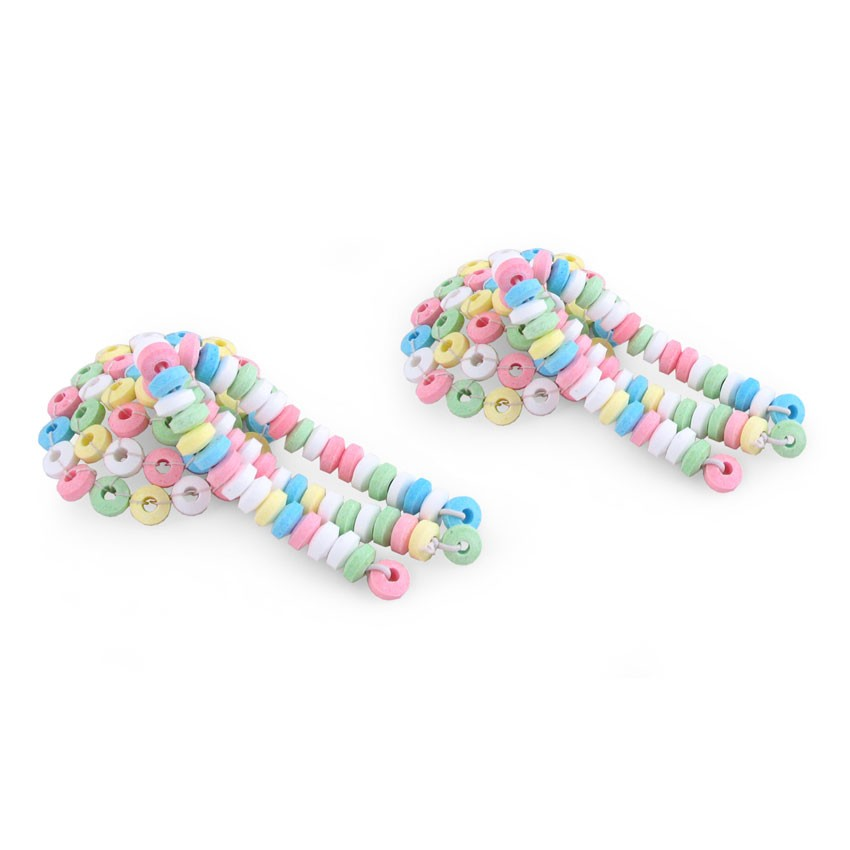 Украшения для интима - Candy Nipples Tassels съедобное украшение для груди