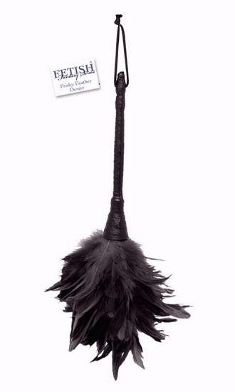 БДСМ игрушки - Метелочка Frisky Feather, черный