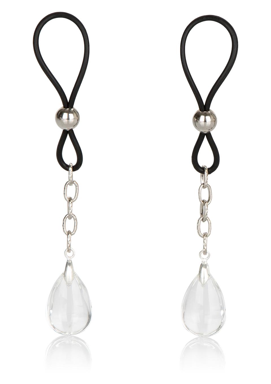 БДСМ аксессуары - California Exotic Novelties Nipple Jewel Crystal Teardrop украшение для груди