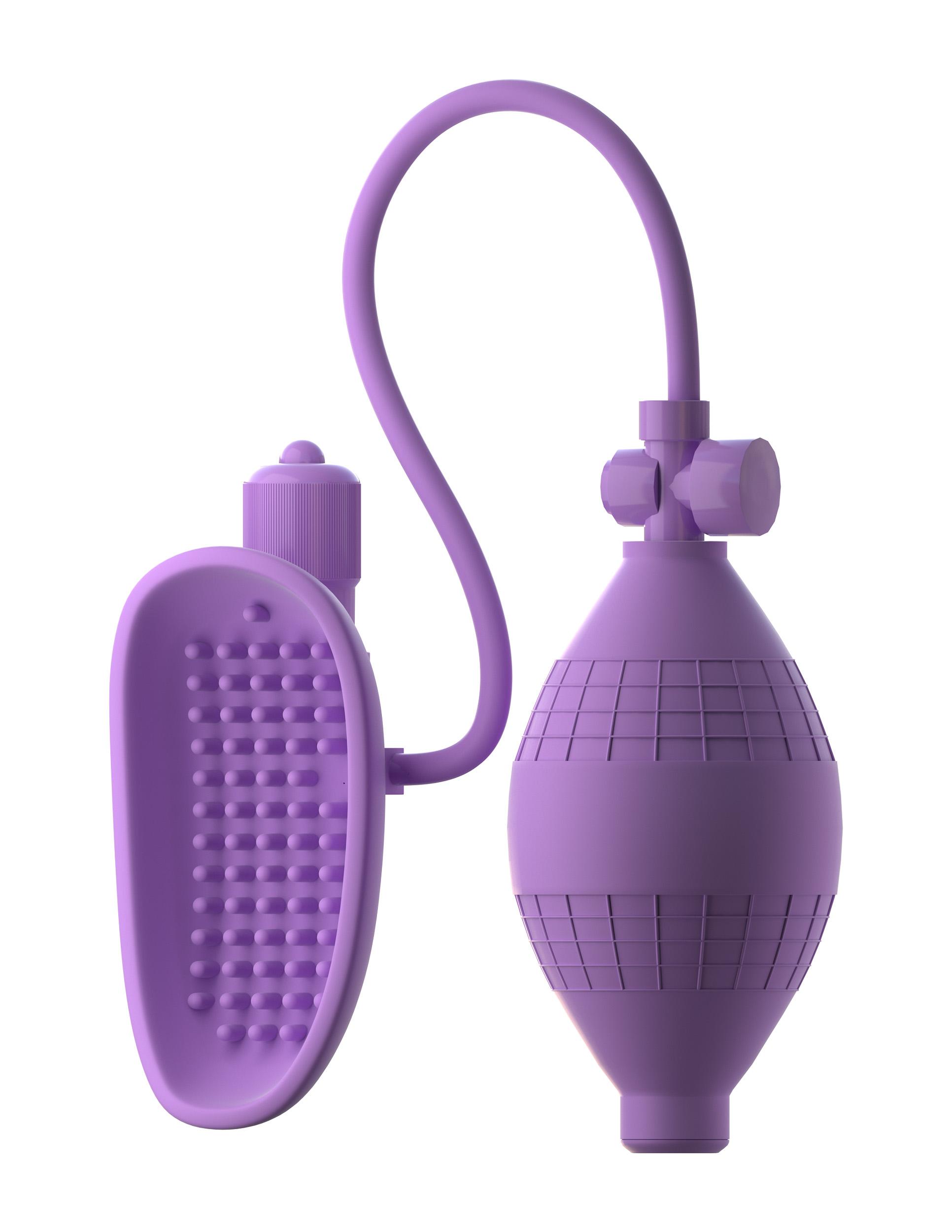 Женские вакуумные помпы - Вибропомпа для клитора Sensual Pump-Her